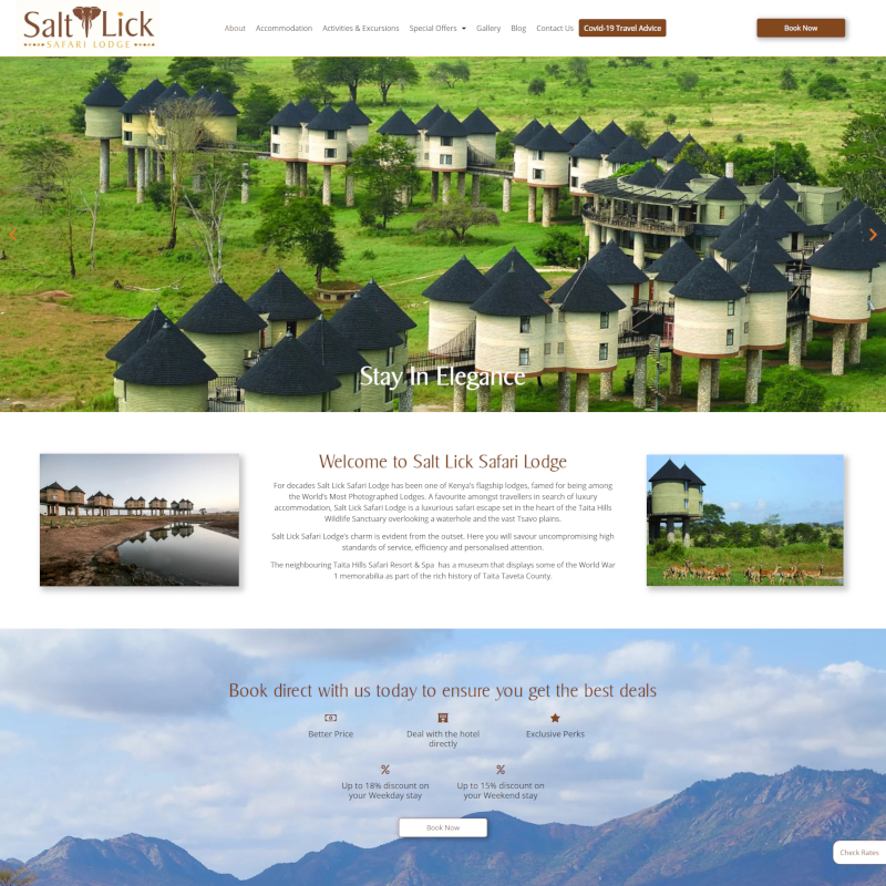 Preview image for Salt Lick Safari Lodge